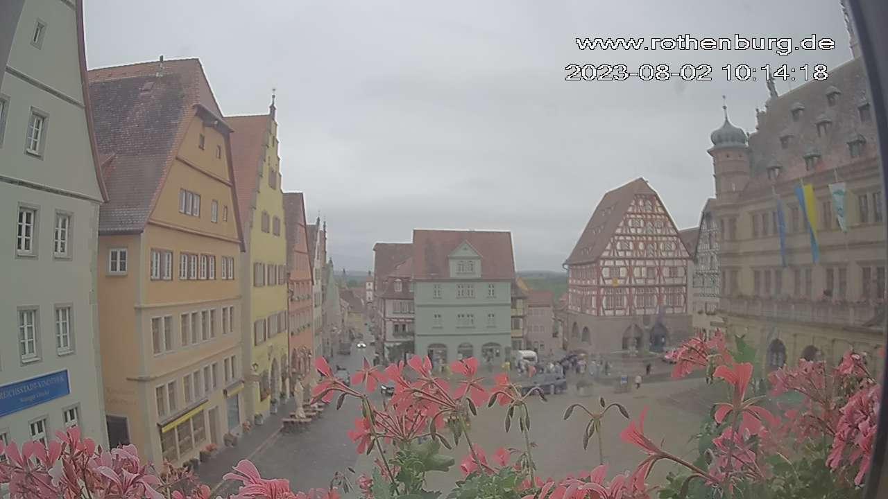 Marktplatz Rothenburg (live)